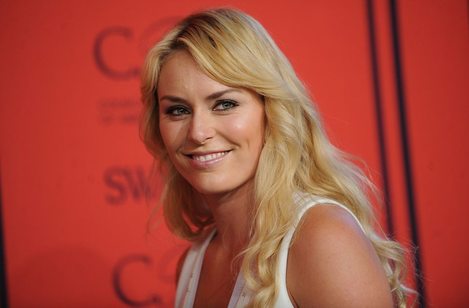 World Cup alpine ski racer Lindsey Vonn arrives at the 2013 CFDA Fashion Awards at Alice Tully Hall on Monday, June 3, 2013 i