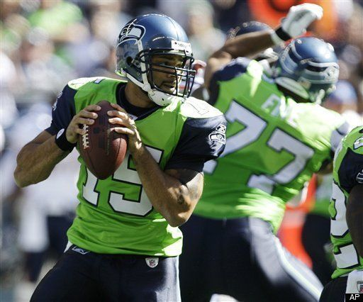 db27a438a Seahawks Jerseys Retired: Lime Green Uniforms Are History Says Coach  (PHOTOS)