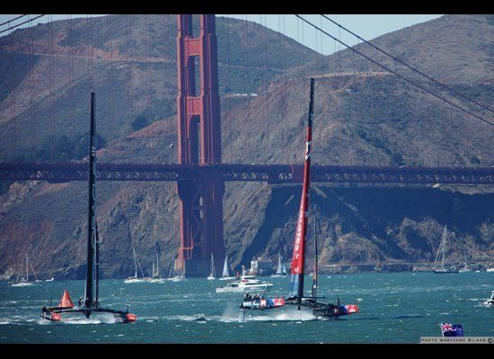 Oracle Team USA and Emirates Team New Zealand began the races on uneven footing.  Buoyed by handily winning the Louis Vuitton
