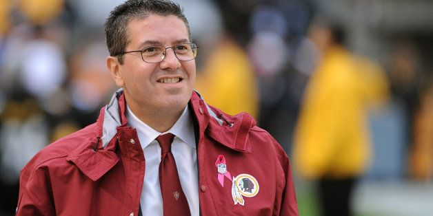PITTSBURGH, PA - OCTOBER 28:  Team owner Daniel Snyder of the Washington Redskins looks on from the sideline before a game ag