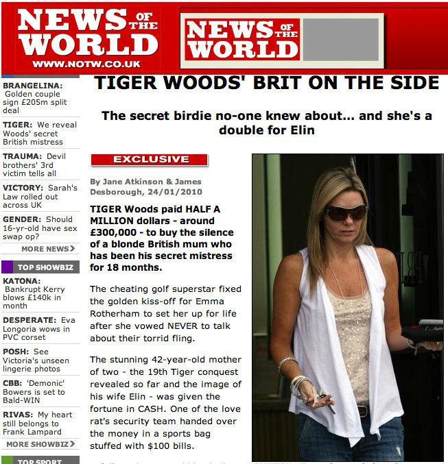 Emma Rotherham: Tiger Woods' LATEST Mistress? | HuffPost