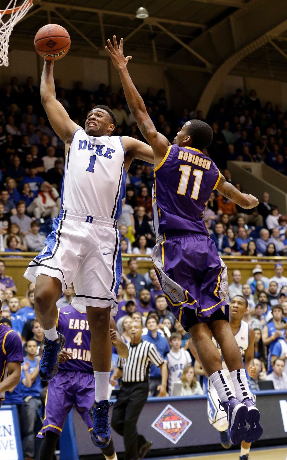 "As a freshman, Parker is exceptionally <a href=""https://www.huffpost.com/entry/dukes-jabari-parker-_b_4267733"" target=""_blank"
