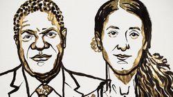Les lauréats du prix Nobel de la Paix 2018