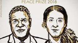 Le prix Nobel de la paix 2018 attribué à la Yézidie Nadia Murad et au congolais Denis
