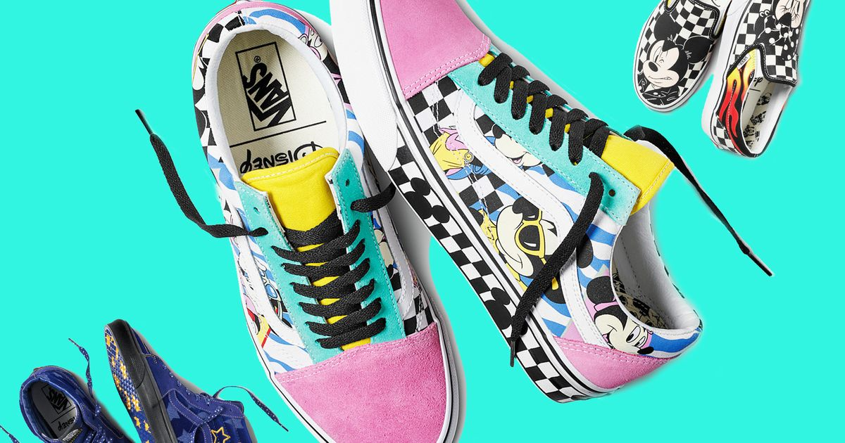 ec4c67adc75a Disney Vans Launched In The UK To Celebrate Mickey Mouse s 90th ...