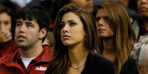 NEW ORLEANS, LA - JANUARY 02:  Katherine Webb attends the Alabama Crimson Tide against the Oklahoma Sooners game during the A