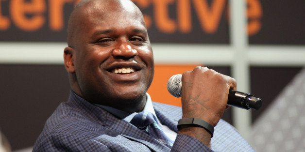AUSTIN, TX - MARCH 09:  Shaquille O'Neal speaks onstage at 'Wearables & Beyond with Shaq' during the 2014 SXSW Music, Film +