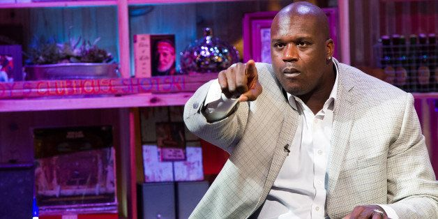 WATCH WHAT HAPPENS LIVE -- Pictured: Shaquille O?Neal -- (Photo by: Charles Sykes/Bravo/NBCU Photo Bank via Getty Images)