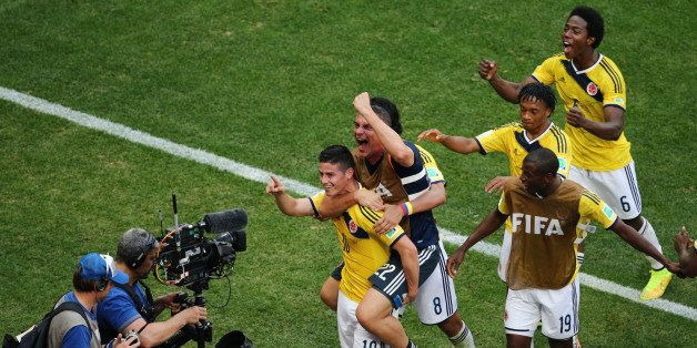 Colombia Holds Off Ivory Coast 2-1 In Furious Finish At World Cup (VIDEO/GIFs)