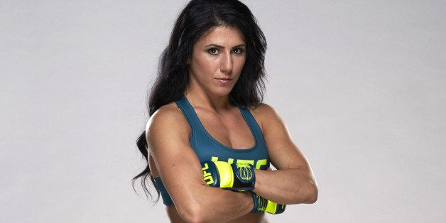 LAS VEGAS, NV - JULY 3:  Randa Markos poses for a portrait during the TUF 20 Media Day session at the TUF gym on July 3, 2014
