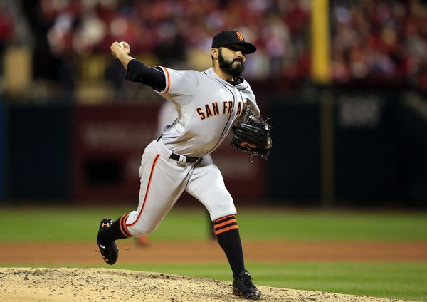 Because you know that means Sergio Romo is approaching the mound.