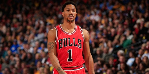 the best attitude e8f34 bd2af Bulls Derrick Rose Wears 'I Can't Breathe' Shirt At Game ...