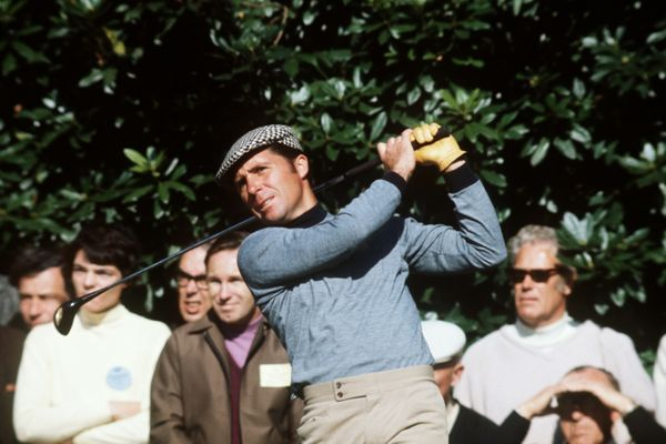 Gary Player driving
