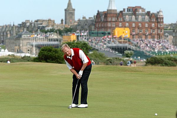 Golf - 134th Open Championship 2005 - Day 2 - The Old Course, St Andrews