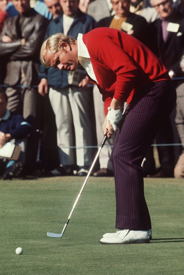 Jack Nicklaus at Open in 1982