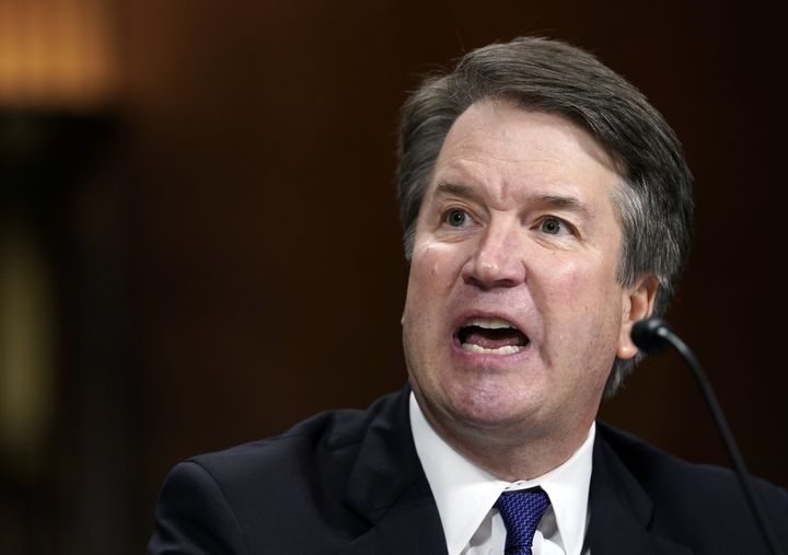 Judge Brett Kavanaugh blamed the accusations that he sexually assaulted a woman when they were in high school on someone gett
