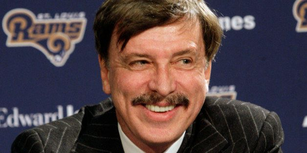 St. Louis Rams owner Stan Kroenke speaks during a news conference where Jeff Fisher was officially introduced as the new head
