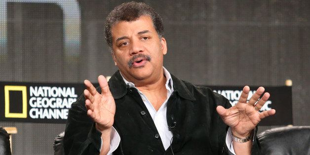 PASADENA, CA - JANUARY 07:  Neil deGrasse Tyson, author, astrophysicist, lecturer and director of the Hayden Planetarium at t