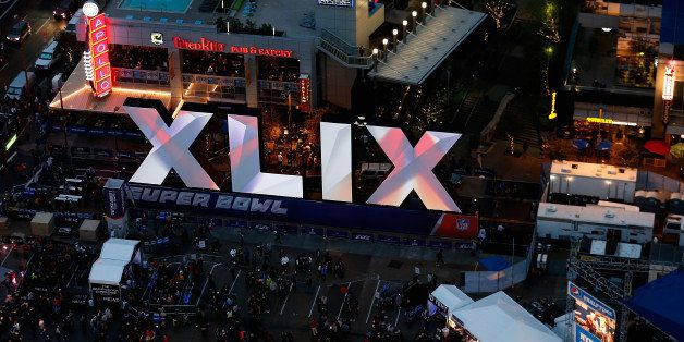 PHOENIX, AZ - JANUARY 30:  General view of downtown area festivites for Super Bowl XLIX on January 30, 2015 in Phoenix, Arizo