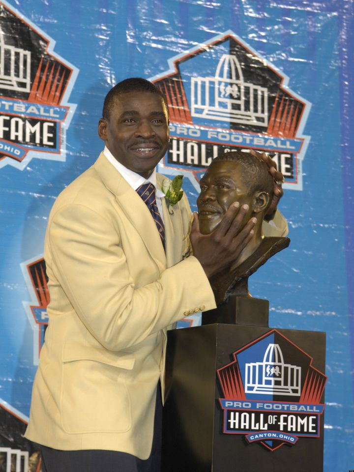 online retailer 831a7 b49f1 Michael Irvin: I Had Sex In Hall Of Fame Jacket   HuffPost