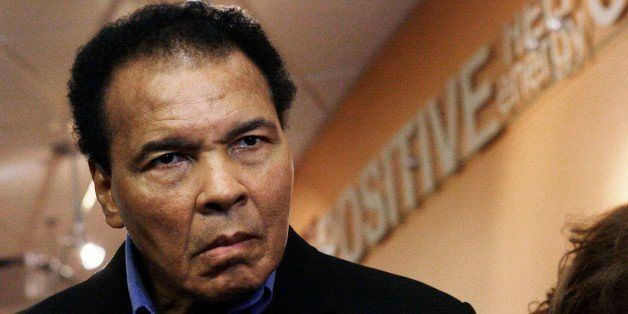 FILE - In this Thursday, Dec. 3, 2009 file photo, former heavyweight boxing champion Muhammad Ali tours the new Muhammad Ali