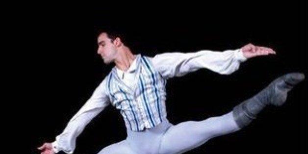 Cuban Ballet Dancer Rolando Sarabia.
