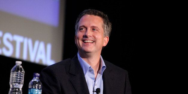 NEW YORK - OCTOBER 02:  Sports writer Bill Simmons speaks at the 2010 New Yorker Festival at DGA Theater on October 2, 2010 i