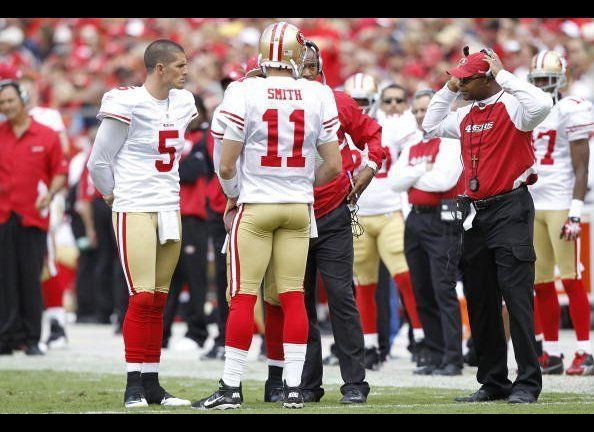 If 49ers fans are confused by this wretched start, all they need focus on is the confusion on the sideline, in the huddle, in