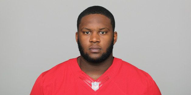 FILE - In this 2012 file photo,  San Francisco 49ers Anthony Davis is shown. Right tackle Davis signed a five-year contract e