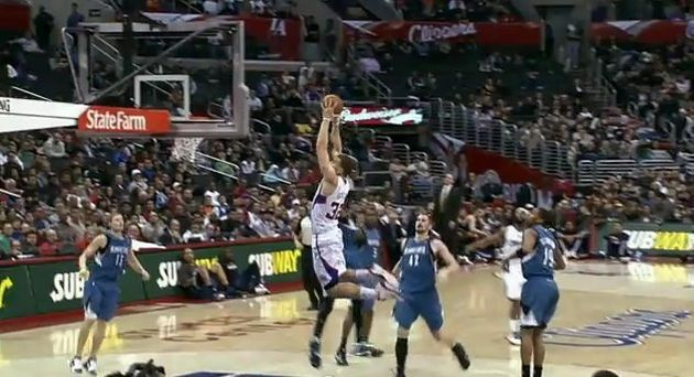Blake Griffin Alley Oop Clippers Rookie Throws Down Amazing Dunk