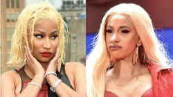 Nicki Minaj Is Now Openly Mocking Cardi B With The Pettiest