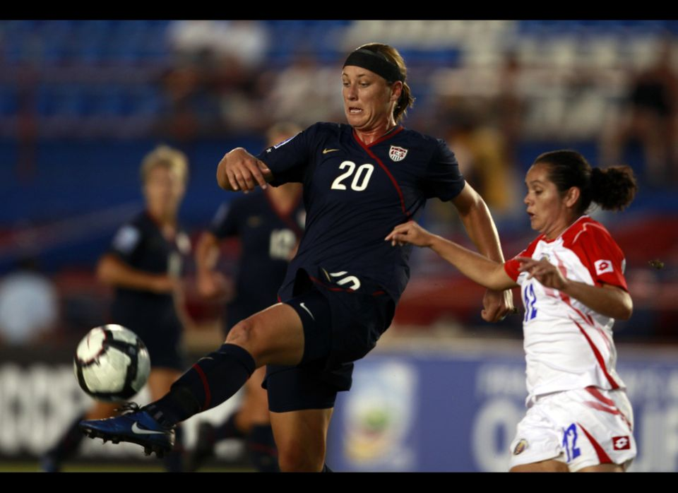 Veteran soccer player Abby Wambach, 30, is an Olympic gold medalist and multiple winner of the U.S. Soccer Athlete of the Yea