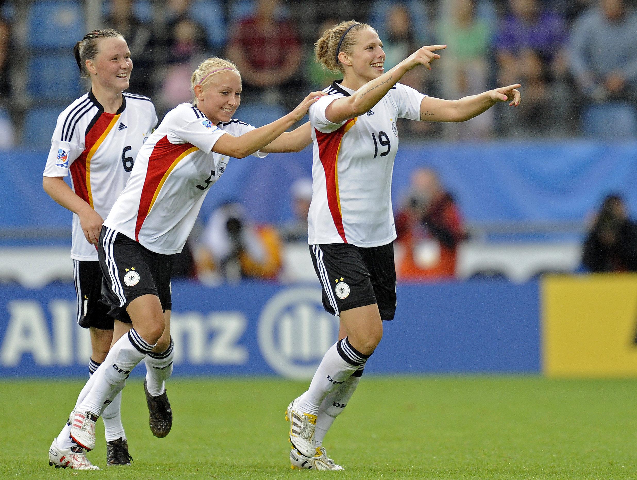 Where sexy german women soccer team curious question