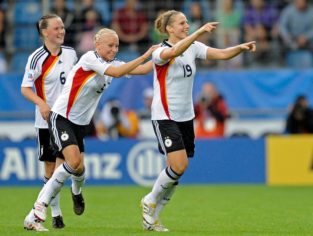 German National Women's Soccer Team Members Pose For Playboy To