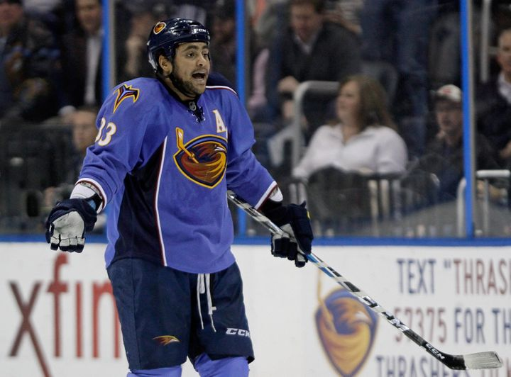 new arrival cca66 ec3b1 Dustin Byfuglien Arrested: NHL Player Busted On Suspicion Of ...