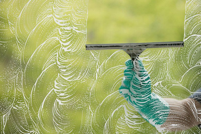 A gorgeous spring morning may seem like the perfect time to wash your windows. But doing the job when it's sunny out is a bad