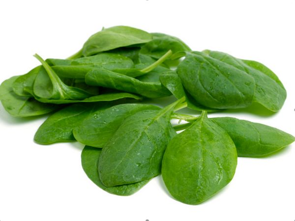 Dark, leafy greens such as spinach, kale, and swiss chard are an excellent source of iron (especially important for women), v