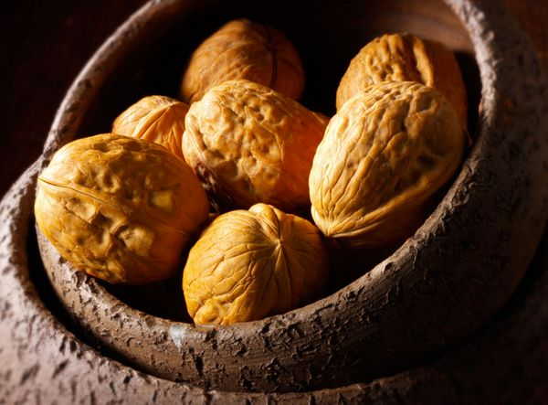 Of all nuts, walnuts contain the most alpha-linolenic omega-3 fatty acids, which lower LDL (bad) cholesterol and may reduce i