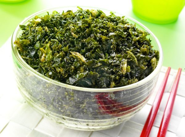 Think of eating seaweed as going directly to the source -- this is where fish procure their Omega-3's, meaning you can skip t