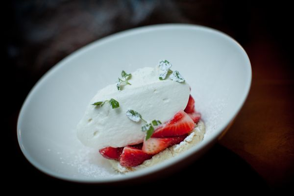 "You could spend an hour making classic American strawberry shortcake, but John Keller, chef at <a href=""http://www.co-opresta"