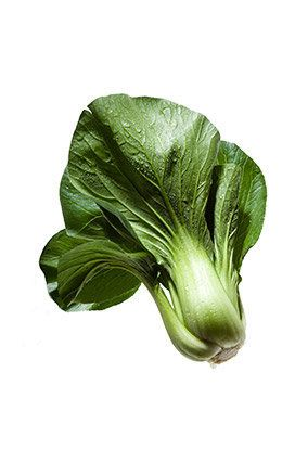 <i>Mild, tender cabbage with dark green tops and thick, pale stalks</i>  <b>Health Perks</b> Bok choy belongs to the crucifer