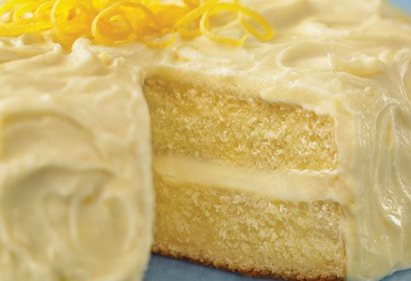 Bright and tangy, this cake will appeal to adults and children. Once frosted, it will keep in the refrigerator, loosely wrapp