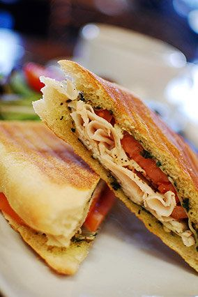 "Make yourself a mini Thanksgiving meal -- a small <a href=""http://www.oprah.com/food/Turkey-Sandwich-Recipes-What-to-Do-with-"