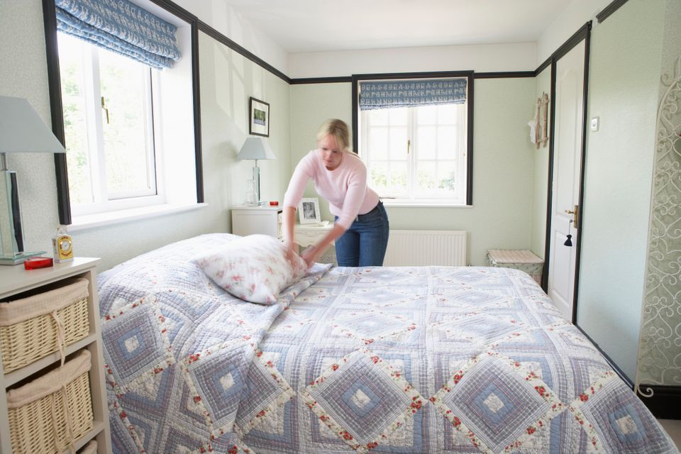 Your mother was right -- you should tidy up those sheets: People who make their bed every day are 19 percent more likely to r