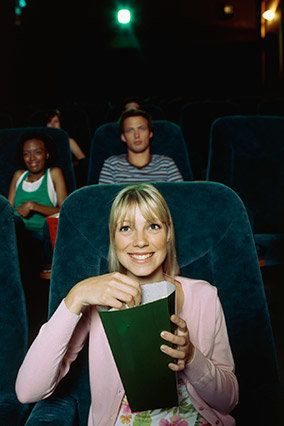 """Go to a movie with no one, which is like going to Mexico, but cheaper. Doing something by yourself can be, as <a href=""""http:/"""