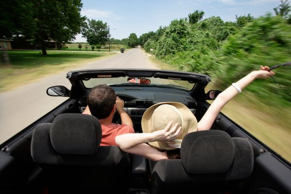A car ride together can be many things: a peacock-like display of assets; a show of skill and prowess; a date in itself (if y