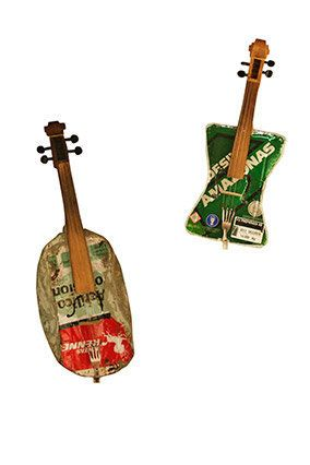 In a Paraguayan slum, the students in the Recycled Orchestra play classical music on instruments made of repurposed trash. Ch