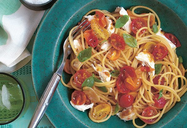 The best thing about this ridiculously easy pasta dish from Marden is that you can eat it straight from the stove or serve it