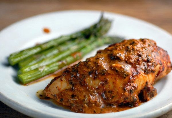 Some marinade recipes have a mile-long ingredient list, but this one relies on just a few items -- and each of them delivers