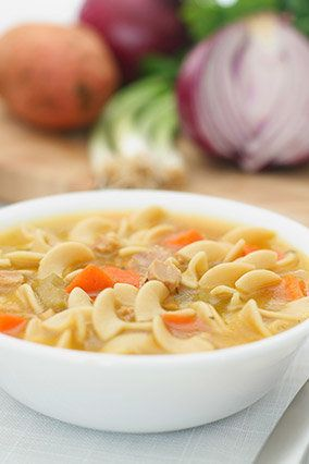 Chicken noodle soup, 1 can